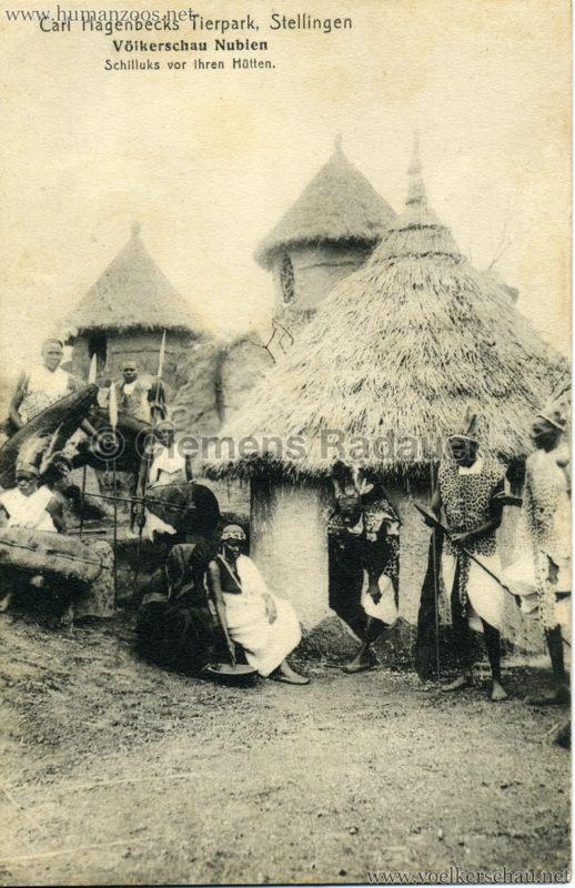 19131914-vo%cc%88lkerschau-nubien-4001-schilluks-vor-ihren-hu%cc%88tten