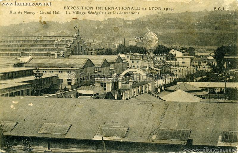 1914 Exposition Coloniale Lyon - Jardin & Village Sénégalais 3