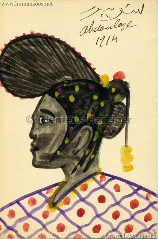 1914 Exposition Coloniale Lyon Village Senegalais Abdoulaye Samb 1
