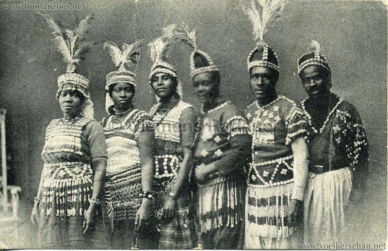 1917 (?) Carl Hagenbeck's Tierpark - Sudanesen-Truppe 4