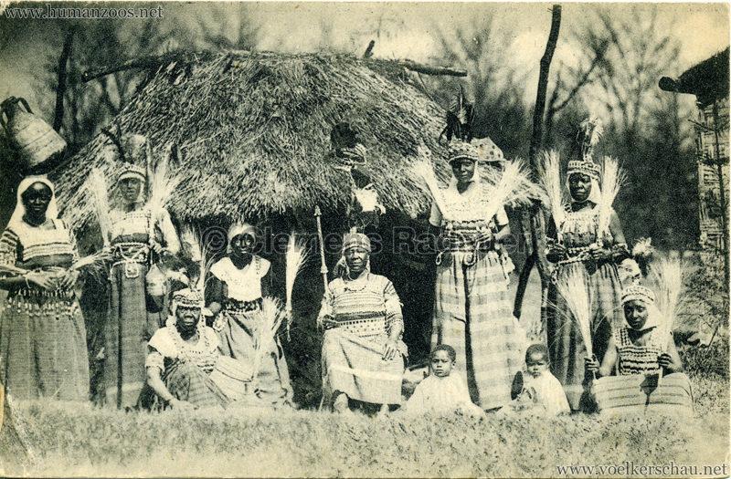 1918:1919 Carl Hagenbeck's Tierpark - Sudanesen-Truppe 7