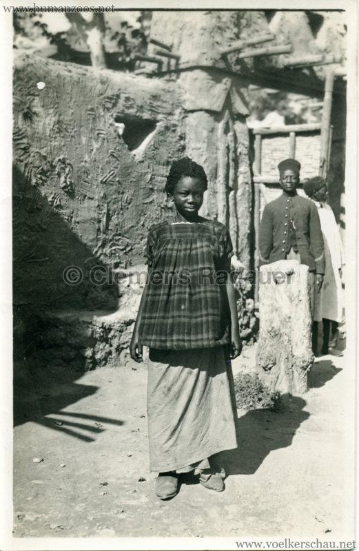 1922 Exposition Coloniale Marseille FOTO - Une joli type de femme