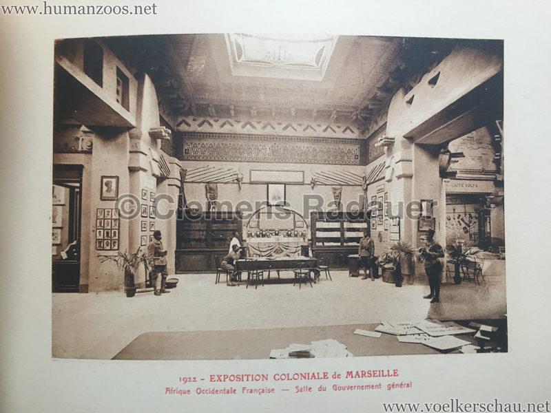 1922 Exposition Coloniale Marseille - Palais de l'Afrique Occidentale Francaise 10 - Salle 1