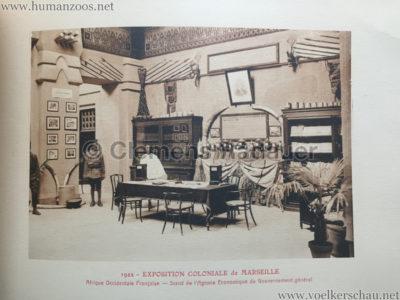 1922 Exposition Coloniale Marseille - Palais de l'Afrique Occidentale Francaise 11 - Stand 1