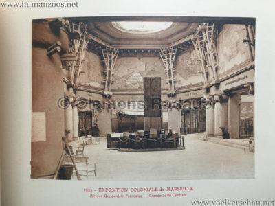 1922 Exposition Coloniale Marseille - Palais de l'Afrique Occidentale Francaise 12 - Salle 2