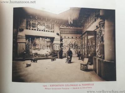 1922 Exposition Coloniale Marseille - Palais de l'Afrique Occidentale Francaise 14 - Stand 3