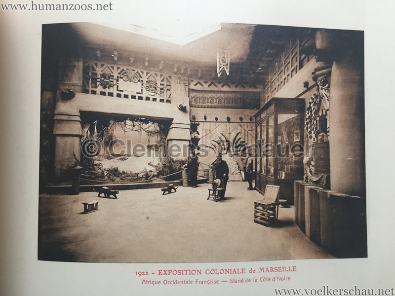 1922 Exposition Coloniale Marseille - Palais de l'Afrique Occidentale Francaise 14 - Stand 3