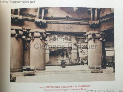 1922 Exposition Coloniale Marseille - Palais de l'Afrique Occidentale Francaise 15 - Stand 4