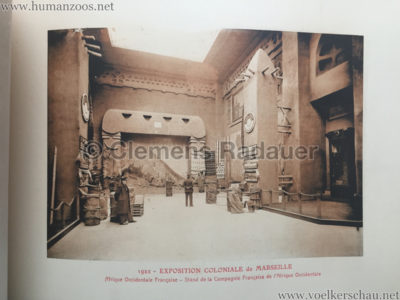 1922 Exposition Coloniale Marseille - Palais de l'Afrique Occidentale Francaise 16 - Stand 5