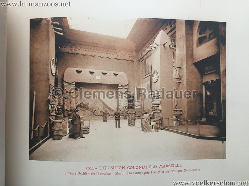 1922 Exposition Coloniale Marseille - Palais de l'Afrique Occidentale Francaise 16 - Stand 5