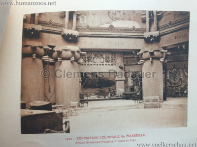 1922 Exposition Coloniale Marseille - Palais de l'Afrique Occidentale Francaise 18 - Stand 7