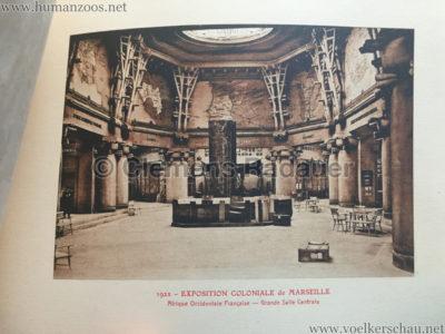 1922 Exposition Coloniale Marseille - Palais de l'Afrique Occidentale Francaise 19 - Salle 3