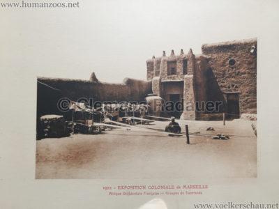 1922 Exposition Coloniale Marseille - Palais de l'Afrique Occidentale Francaise 4 - Groupes de tisserands