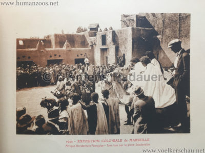 1922 Exposition Coloniale Marseille - Palais de l'Afrique Occidentale Francaise 6 - Tam-Tam