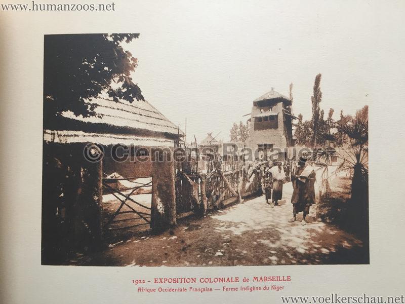 1922 Exposition Coloniale Marseille - Palais de l'Afrique Occidentale Francaise 7 - Ferme indigene