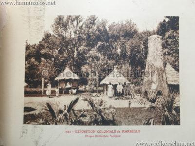 1922 Exposition Coloniale Marseille - Palais de l'Afrique Occidentale Francaise 8 - Afrique Occidentale