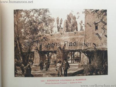 1922 Exposition Coloniale Marseille - Palais de l'Afrique Occidentale Francaise 9 - Jardin du Palais
