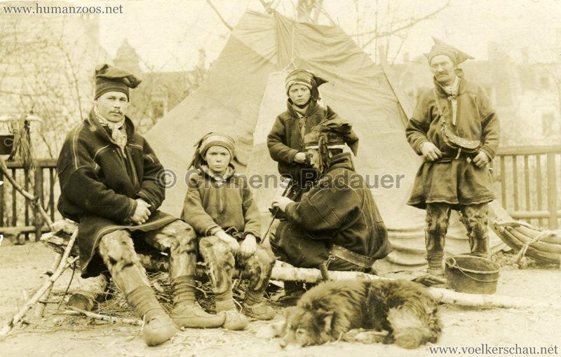 1925 L. Ruhe's Lappenschau aus Finnland FOTO 1
