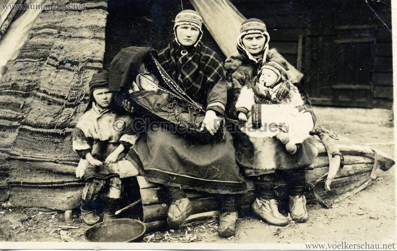1925 L. Ruhe's Lappenschau aus Finnland FOTO 2