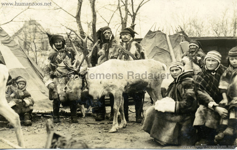 1925 L. Ruhe's Lappenschau aus Finnland FOTO 3