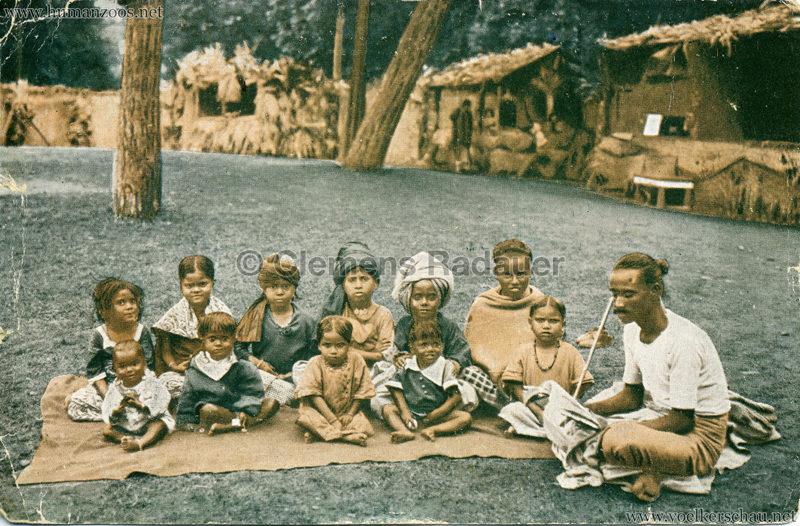 1926 John Hagenbeck's Indienschau - Schule