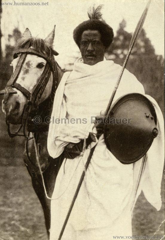 1926-l-ruhe-john-hagenbecks-somali-dorf-aus-abessinien-krieger-b