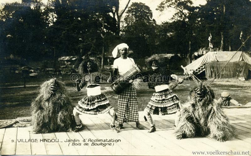 1926 Village Hindou - Jardin d'Acclimatation 9 kopieren