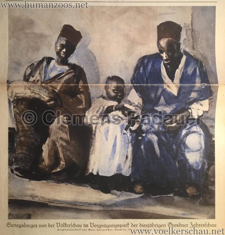 1928.09.09 Heim und Welt - Jahresschau Dresden Senegalneger