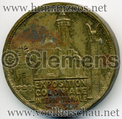1931 Exposition Coloniale - Afrique COIN RS