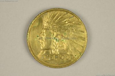 1931 Exposition Coloniale - Amerique COIN VS