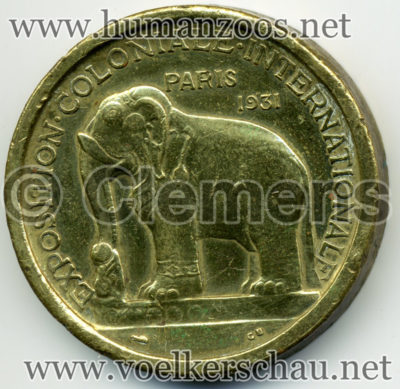 1931 Exposition Coloniale - Asie COIN RS