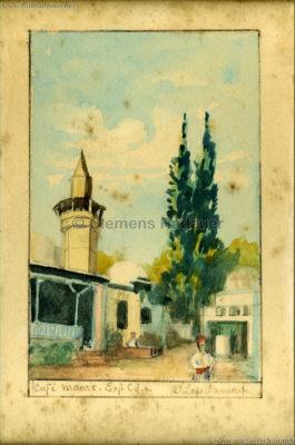 1931 Exposition Coloniale Internationale Paris - Cafe Maure 1 KUNST