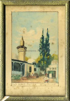1931 Exposition Coloniale Internationale Paris - Cafe Maure 2 KUNST