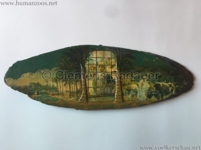 1931 Exposition Coloniale Internationale Paris Holzbrett 1