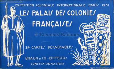 1931 Exposition Coloniale Internationale Paris - Les Palais des Colonies Francaises