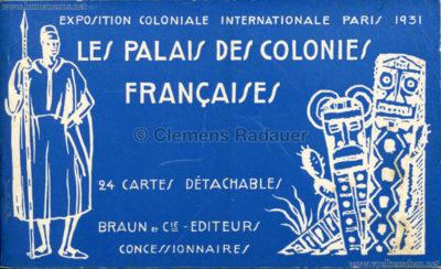 1931 Exposition Coloniale Internationale Paris - Les Palais des Colonies Francaises