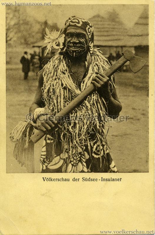 1931 Völkerschau der Südsee-Insulaner