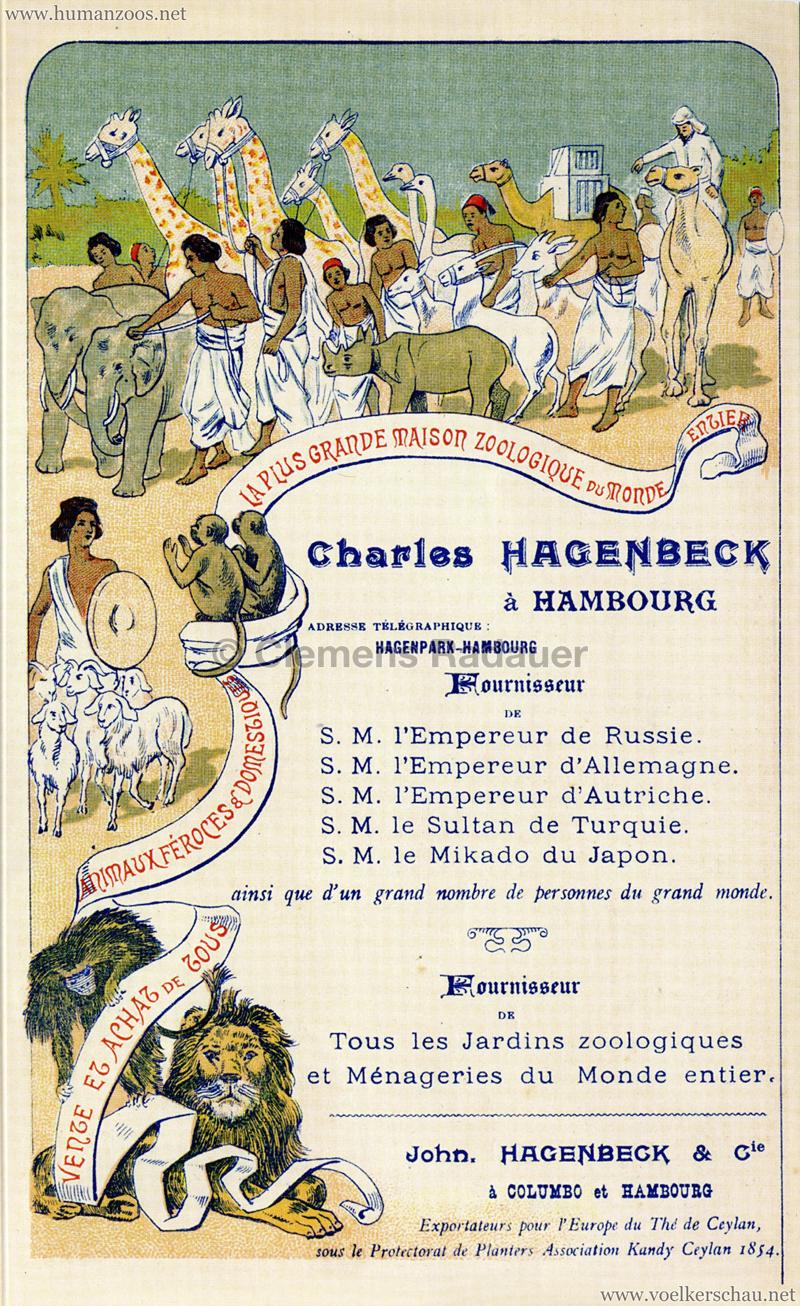 Charles Hagenbeck Seite 1