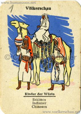 Eidora Quartett Völkerschau 1