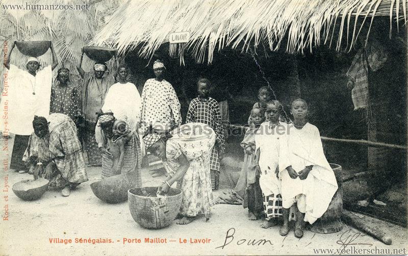 Porte Maillot - Village Sénégalais - Le Lavoir