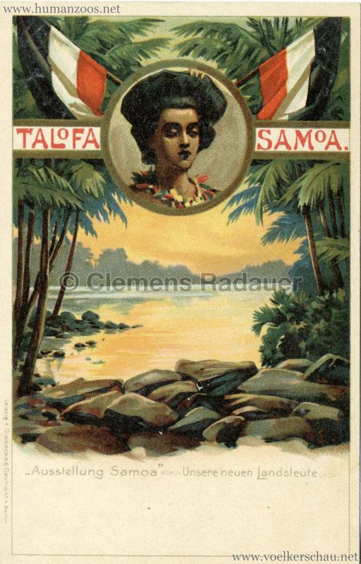 Talofa Samoa - Ausstellung Samoa . Unsere Neuen Landsleute 4