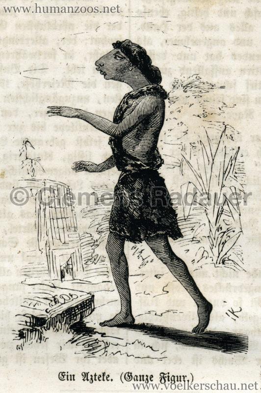 1861 Die Azteken, der Buschmann und die Corana S. 157 Detail 2