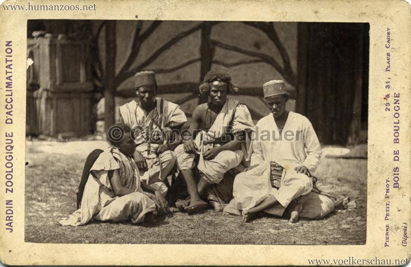 1879 (?) Jardin Zoologique d'Acclimatation - Nubiens 2