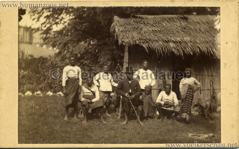 1885/1886 Carl Hagenbeck's Kamerun Expedition VS