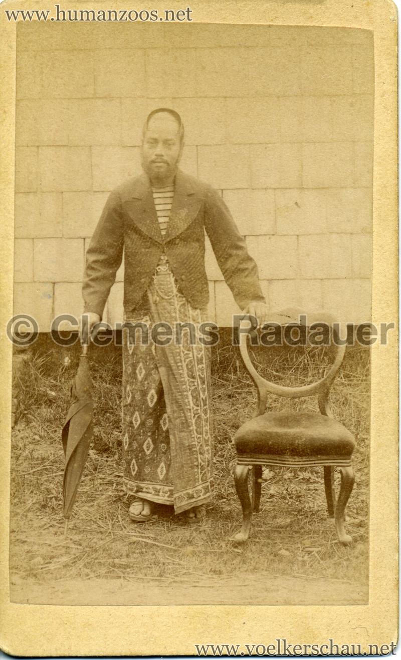 1886 Carl Hagenbeck's Ceylonese Exhibition VS