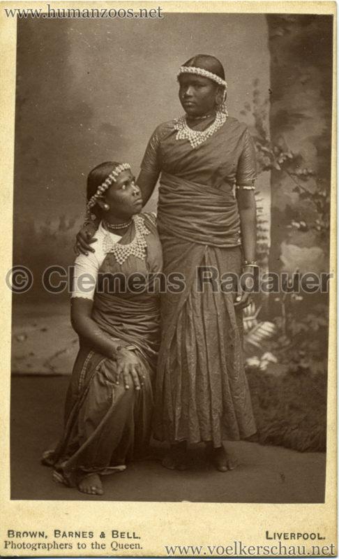 1886 International Exhibition Liverpool - Indian Village VS