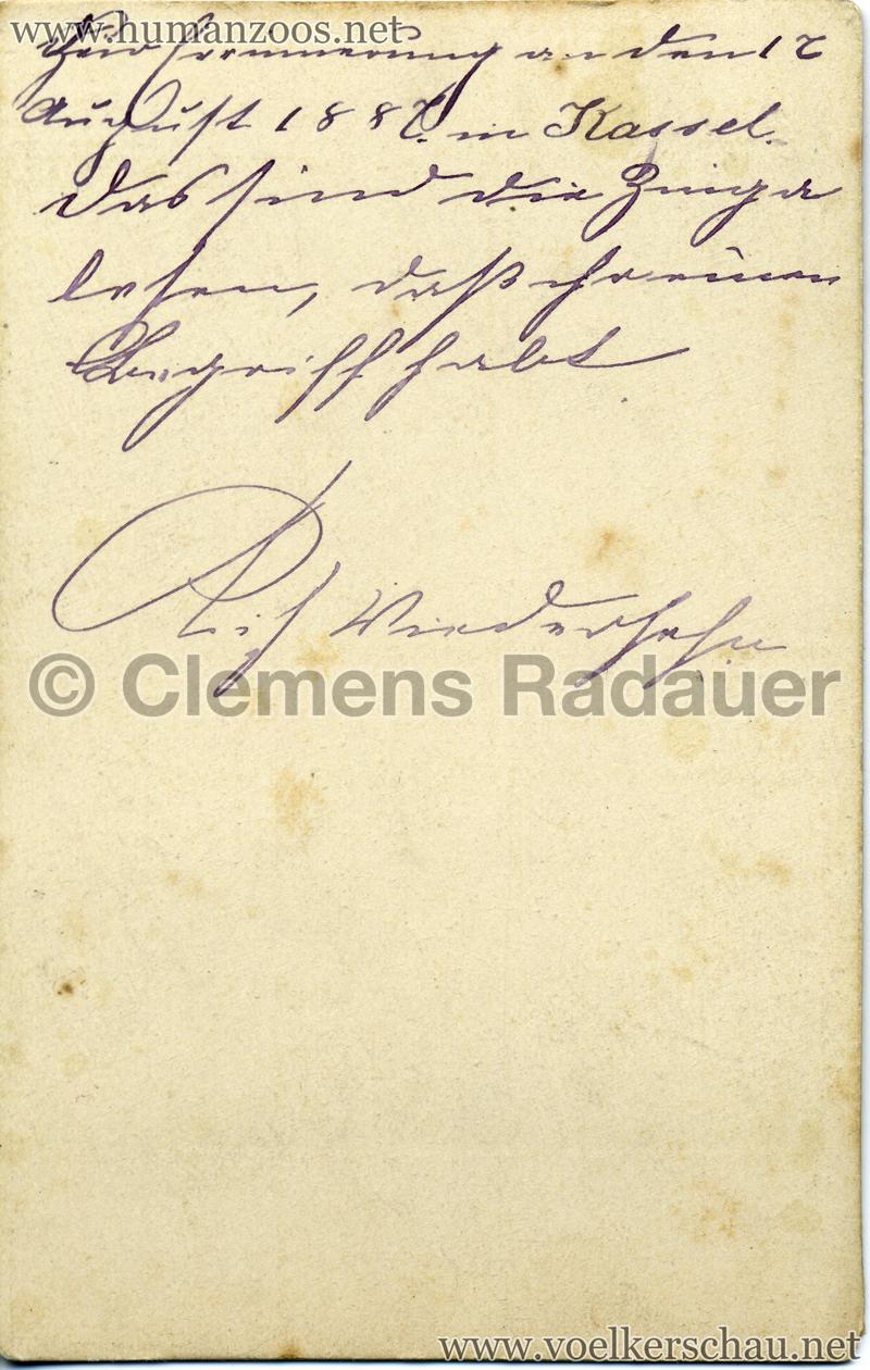 1887 Singhalesen Kassel RS