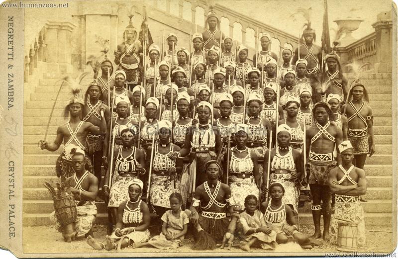 1893 London Crystal Palace - Amazon Warriors from Dahomey