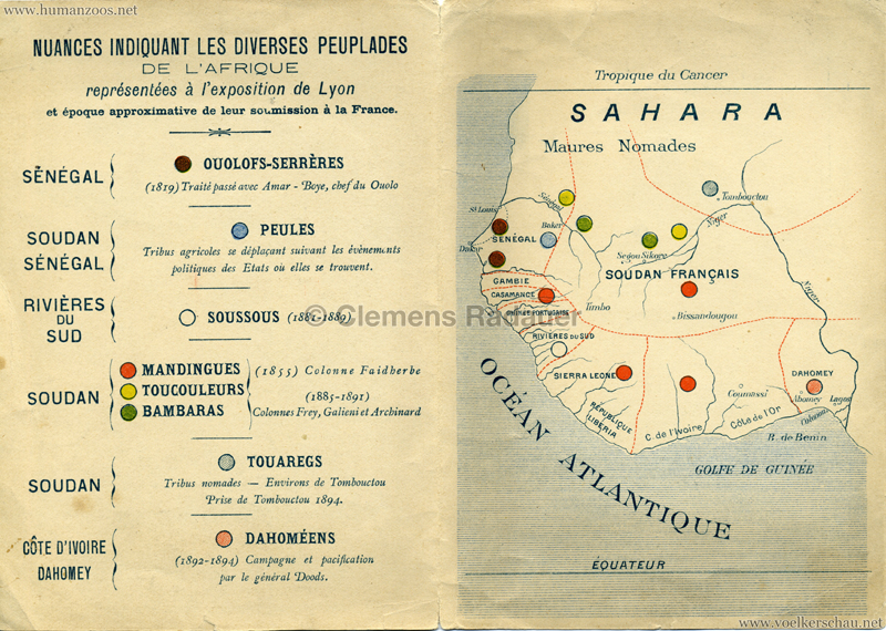 1894 Exposition Universelle, Internationale & Coloniale de Lyon - Exposition Ethnographique 2
