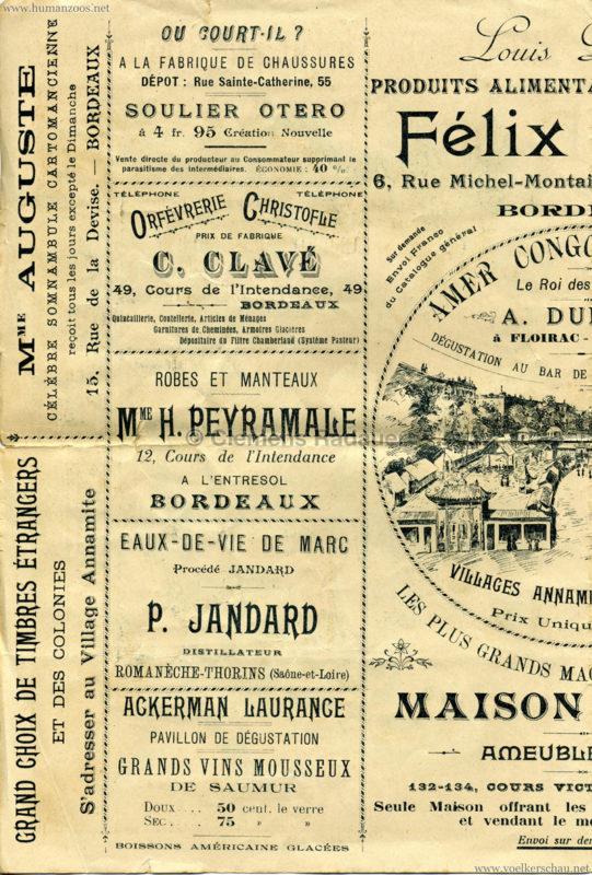 1895 Exposition de Bordeaux - Theatre Asiatique 2